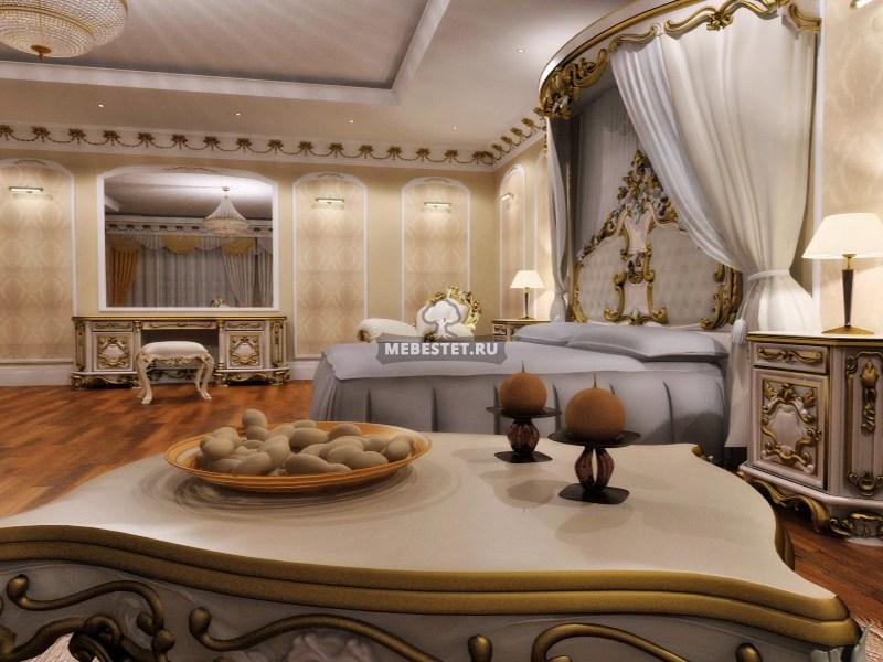 королевская роскошь в вашей спальне мебель в классическом стиле на
