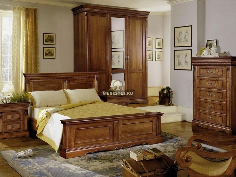Спальня из ореха