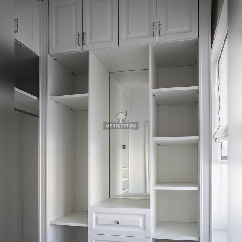 Ящики и отсеки гардеробной