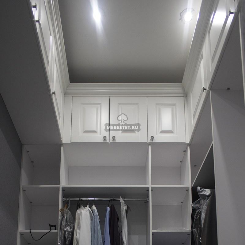 Открытая гардеробная по индивидуальным размерам