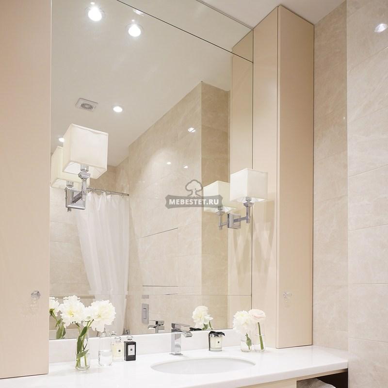 Мебель в ванную из МДФ на заказ в Москве