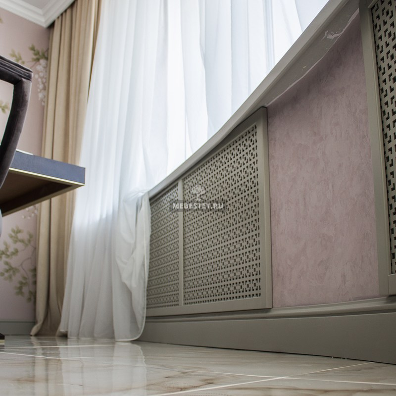 Панель на радиатор отопления