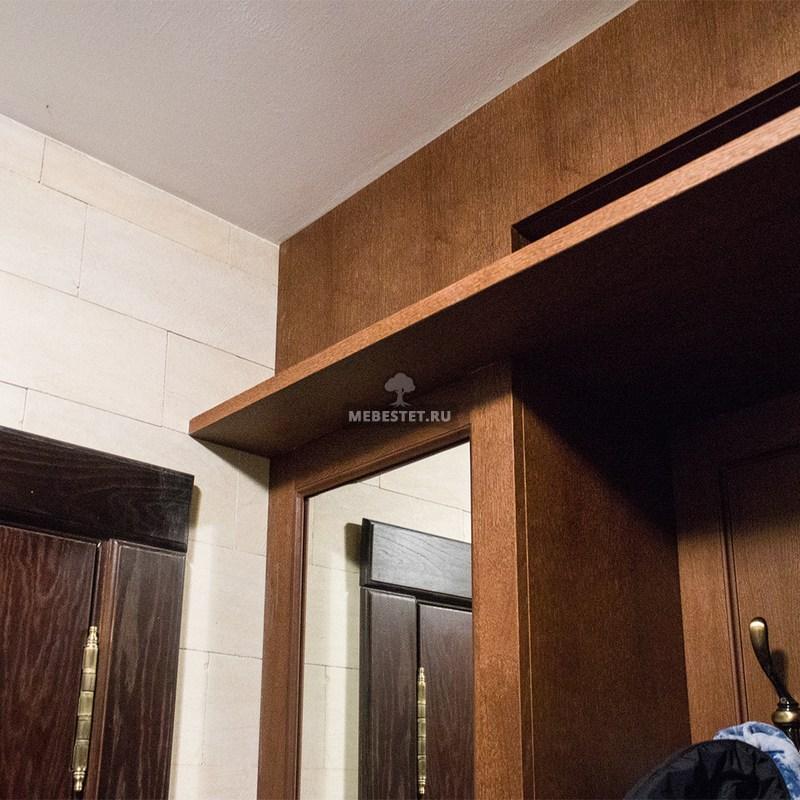 Шкаф для прихожей из шпона