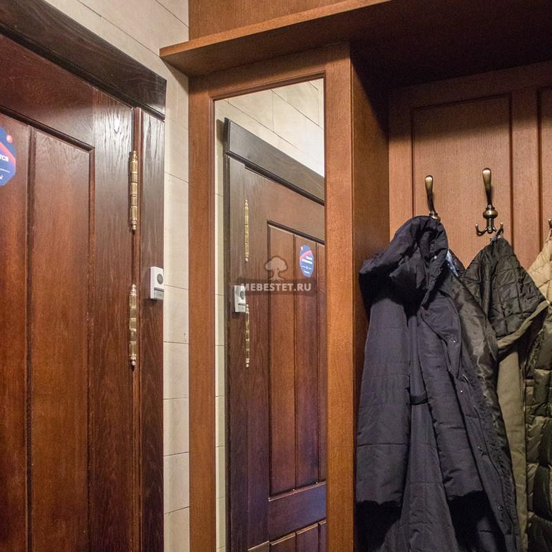 Шкаф в прихожую из МДФ шпон