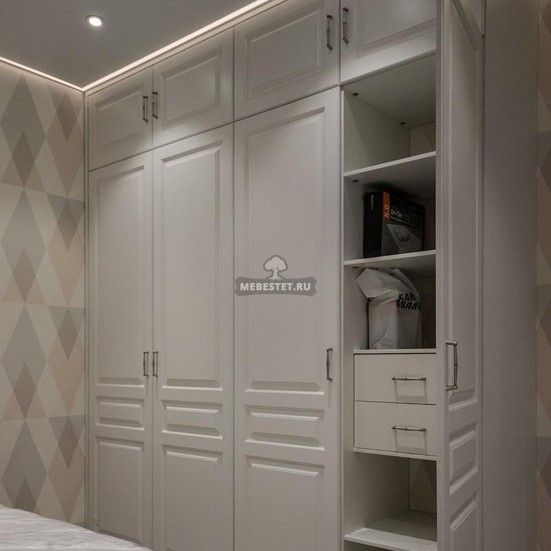 Шкаф для спальни МДФ эмаль