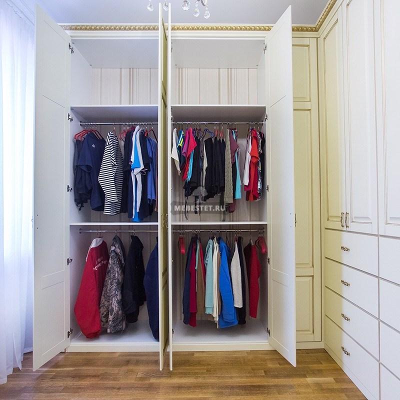 Хранение одежды на штангах