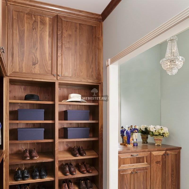 Мебель для гардеробной из массива