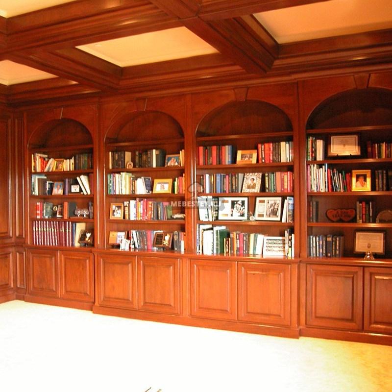 библиотека в стиле арт-деко