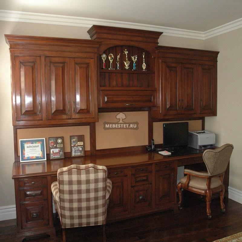 Шкаф совмещённый с рабочим местом
