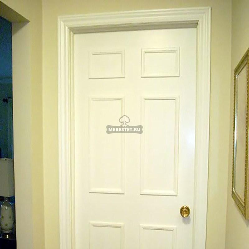 межкомнатная дверь с филёнкой